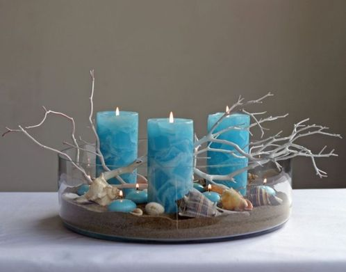 Inspiring Modern Rustic Christmas Centerpieces Ideas With Candles 52