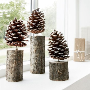 Inspiring Pine Cones Christmas Decoration Ideas 01