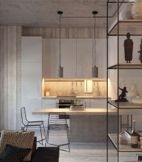 Inspiring And Affordable Decoration Ideas For Small Apartment 43