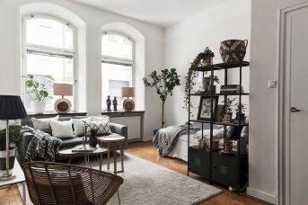 Inspiring And Affordable Decoration Ideas For Small Apartment 60