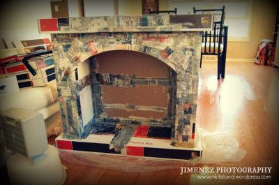 Scary But Classy Halloween Fireplace Decoration Ideas 53