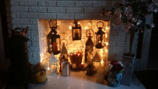 Scary But Classy Halloween Fireplace Decoration Ideas 67