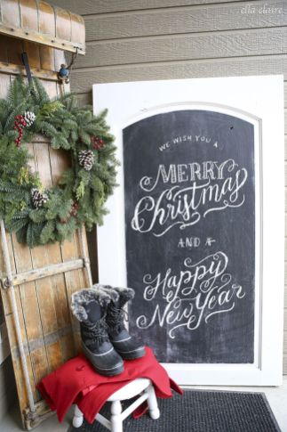 Stunning White Vintage Christmas Decoration Ideas 89