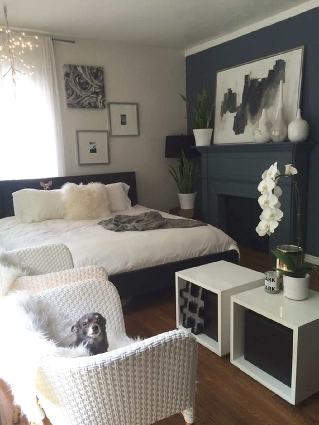 Totally Brilliant Bedroom Design Ideas For Small Apartment 34