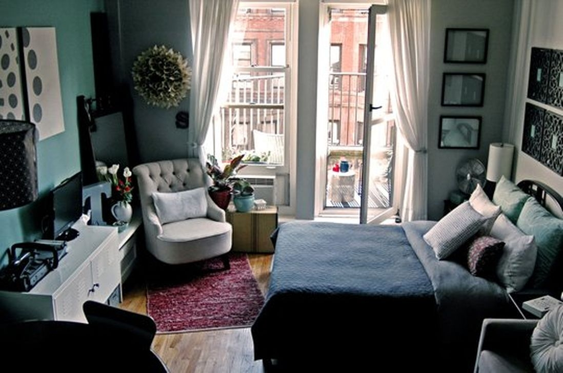 Totally Brilliant Bedroom Design Ideas For Small Apartment 62