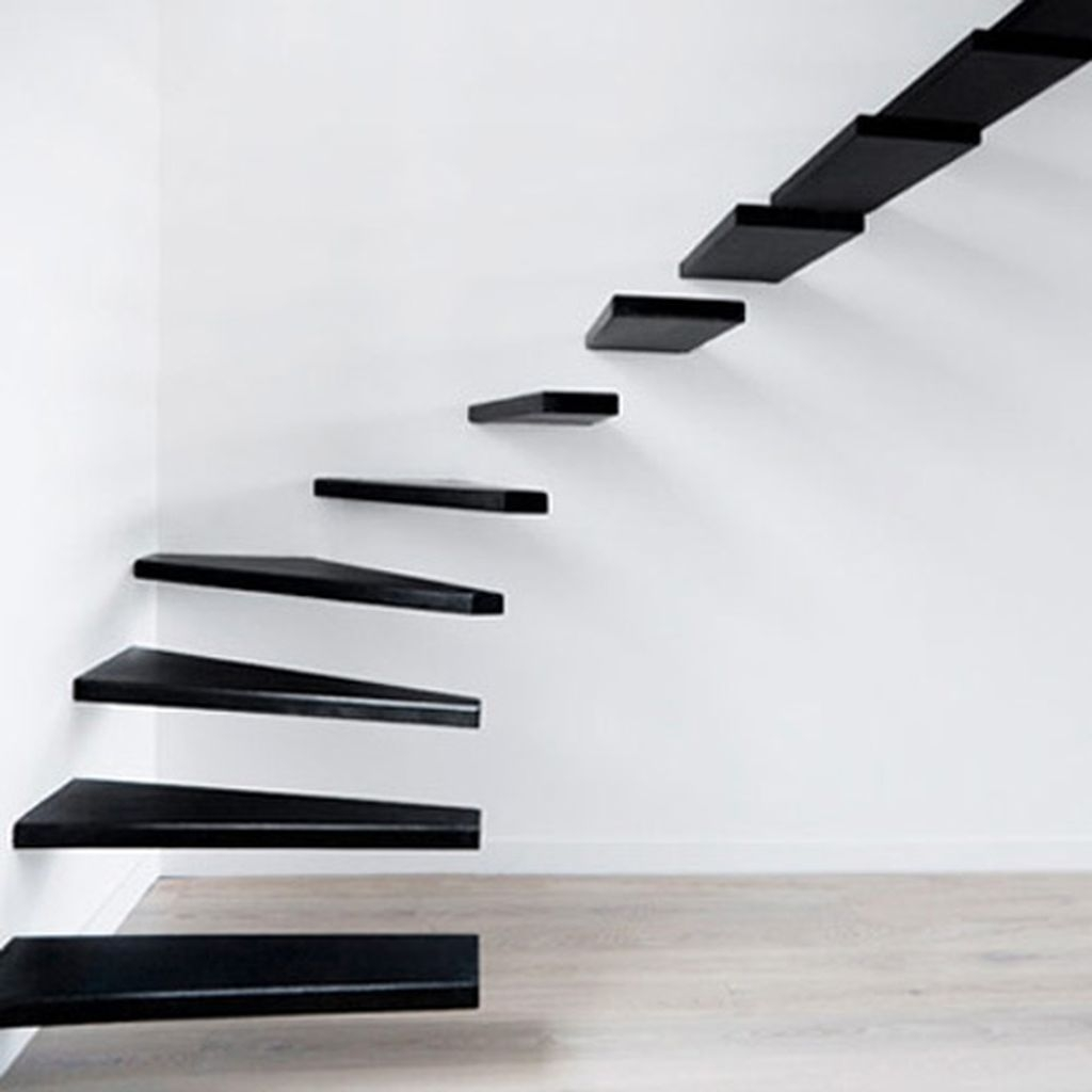Totally Inspiring Residential Staircase Design Ideas You Can Apply For Your Home 27