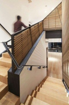 Totally Inspiring Residential Staircase Design Ideas You Can Apply For Your Home 29