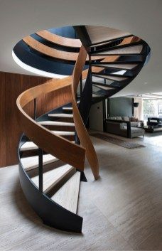 Totally Inspiring Residential Staircase Design Ideas You Can Apply For Your Home 78
