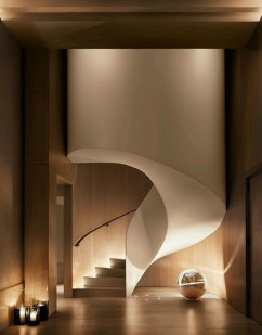 Totally Inspiring Residential Staircase Design Ideas You Can Apply For Your Home 80