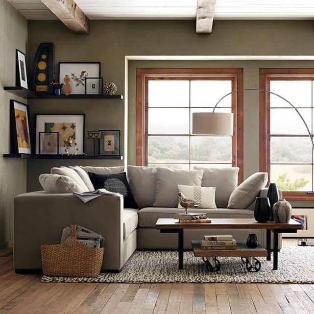Totally Outstanding Sectional Sofa Decoration Ideas With Lamps 01