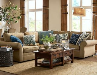 Totally Outstanding Sectional Sofa Decoration Ideas With Lamps 03
