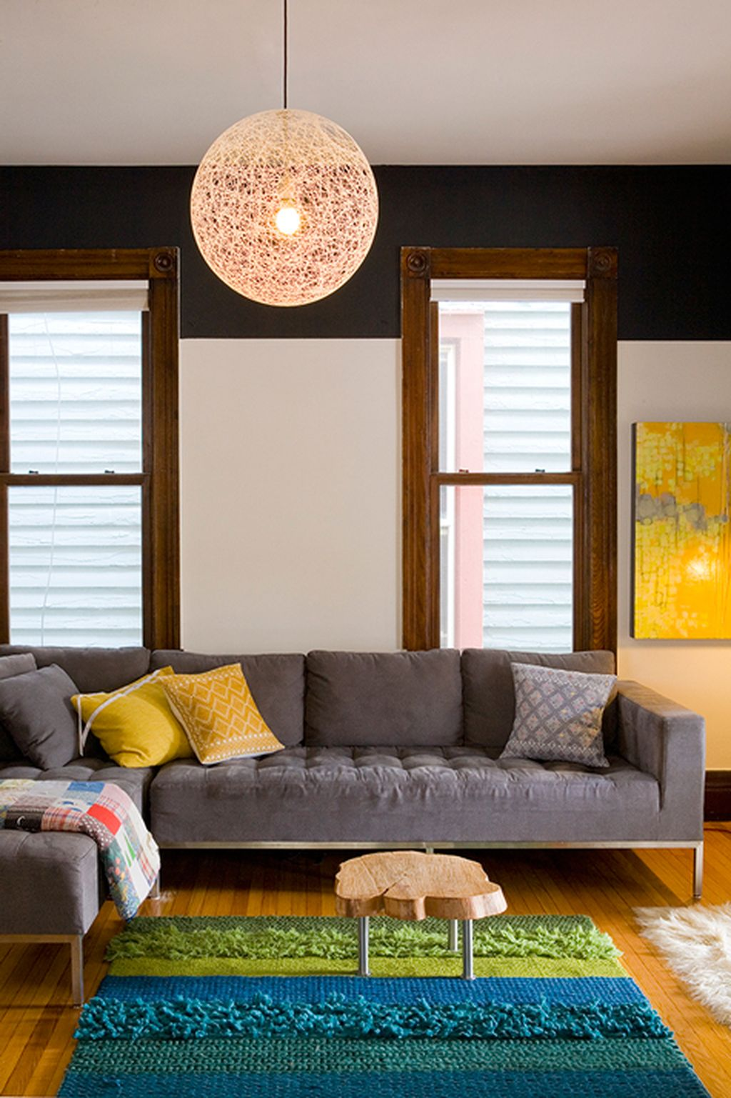 Totally Outstanding Sectional Sofa Decoration Ideas With Lamps 07
