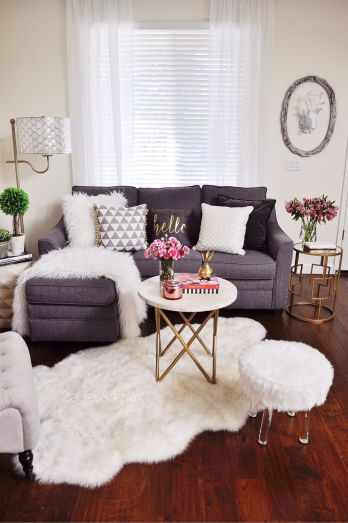Totally Outstanding Sectional Sofa Decoration Ideas With Lamps 11