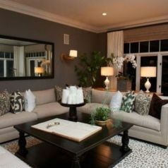 Totally Outstanding Sectional Sofa Decoration Ideas With Lamps 29