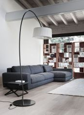 Totally Outstanding Sectional Sofa Decoration Ideas With Lamps 31