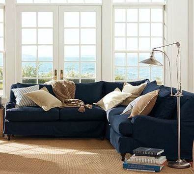 Totally Outstanding Sectional Sofa Decoration Ideas With Lamps 46