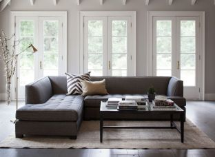 Totally Outstanding Sectional Sofa Decoration Ideas With Lamps 69