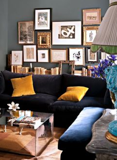 Totally Outstanding Sectional Sofa Decoration Ideas With Lamps 76
