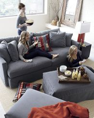 Totally Outstanding Sectional Sofa Decoration Ideas With Lamps 82