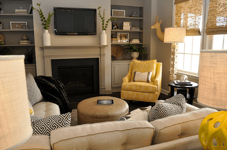 Totally Outstanding Sectional Sofa Decoration Ideas With Lamps 90
