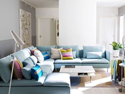 Totally Outstanding Sectional Sofa Decoration Ideas With Lamps 95