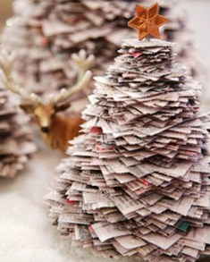 Brilliant And Inspiring Recycled Christmas Tree Decoration Ideas 28
