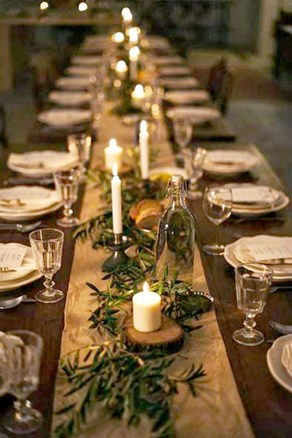 Elegant Table Christmas Decoration Ideas 25