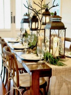Elegant Table Christmas Decoration Ideas 31