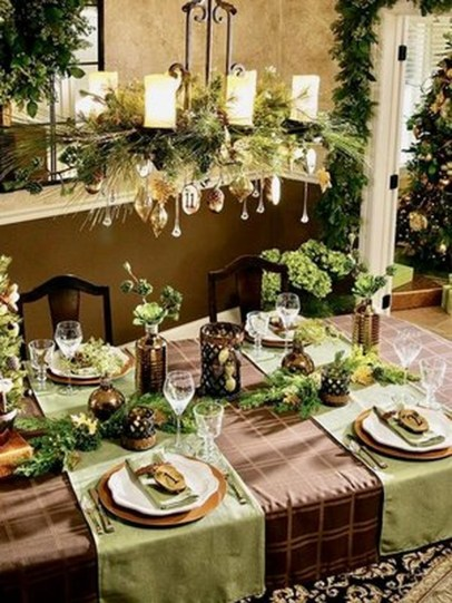 Elegant Table Christmas Decoration Ideas 39