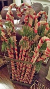 Totally Fun Candy Cane Christmas Decoration Ideas For Your Home14