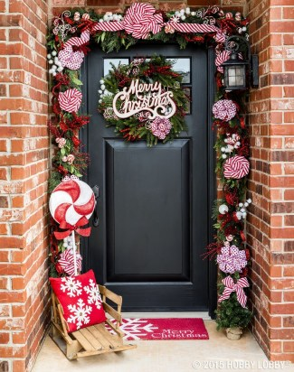 Totally Fun Candy Cane Christmas Decoration Ideas For Your Home17