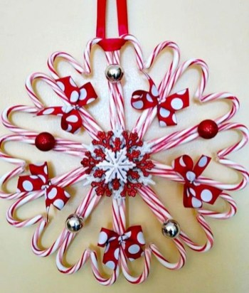 Totally Fun Candy Cane Christmas Decoration Ideas For Your Home18