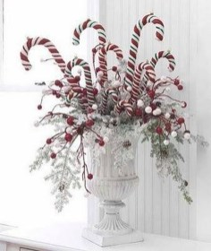 Totally Fun Candy Cane Christmas Decoration Ideas For Your Home29