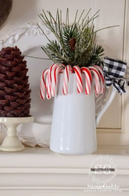 Totally Fun Candy Cane Christmas Decoration Ideas For Your Home33