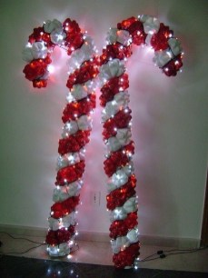 Totally Fun Candy Cane Christmas Decoration Ideas For Your Home38