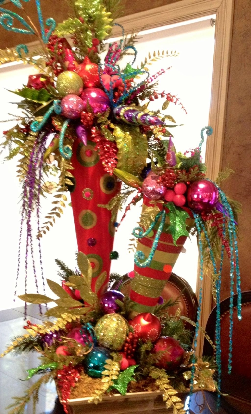 Totally Inspiring Red And Gold Christmas Decoration Ideas 22
