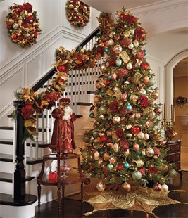 Totally Inspiring Red And Gold Christmas Decoration Ideas 41