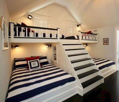 Cool And Functional Built In Bunk Beds Ideas For Kids07