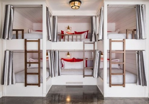 Cool And Functional Built In Bunk Beds Ideas For Kids11