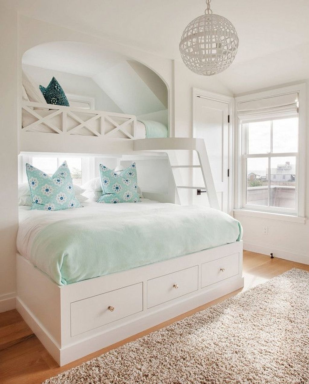 Cool And Functional Built In Bunk Beds Ideas For Kids13