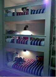 Cool And Functional Built In Bunk Beds Ideas For Kids34