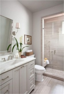 Cool Rustic Modern Bathroom Remodel Ideas 32