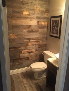 Cool Rustic Modern Bathroom Remodel Ideas 42