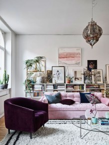 Cozy And Modern Living Room Decoration Ideas 11