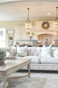Cozy Neutral Living Room Decoration Ideas 35