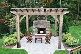 Cozy Rustic Patio Design Ideas25