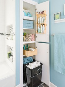 Creative Practical Bathroom Storage Design Ideas14