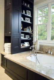 Creative Practical Bathroom Storage Design Ideas22
