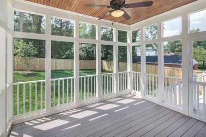 Gorgeous Wooden Deck Porch Design Ideas 18