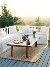 Gorgeous Wooden Deck Porch Design Ideas 26